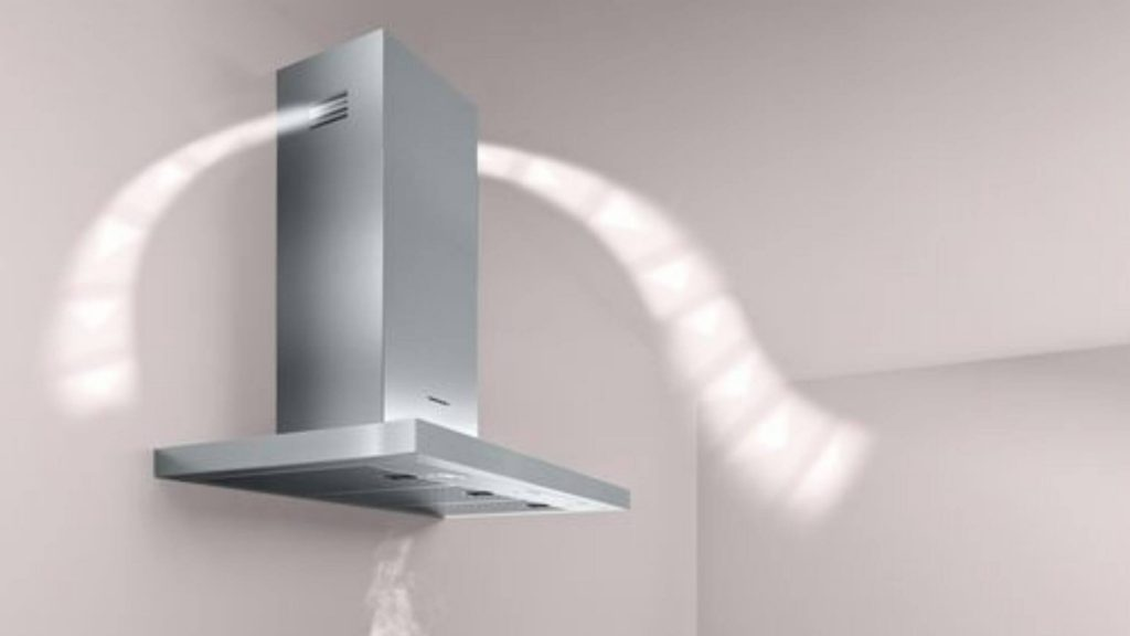 ductless kitche chimney