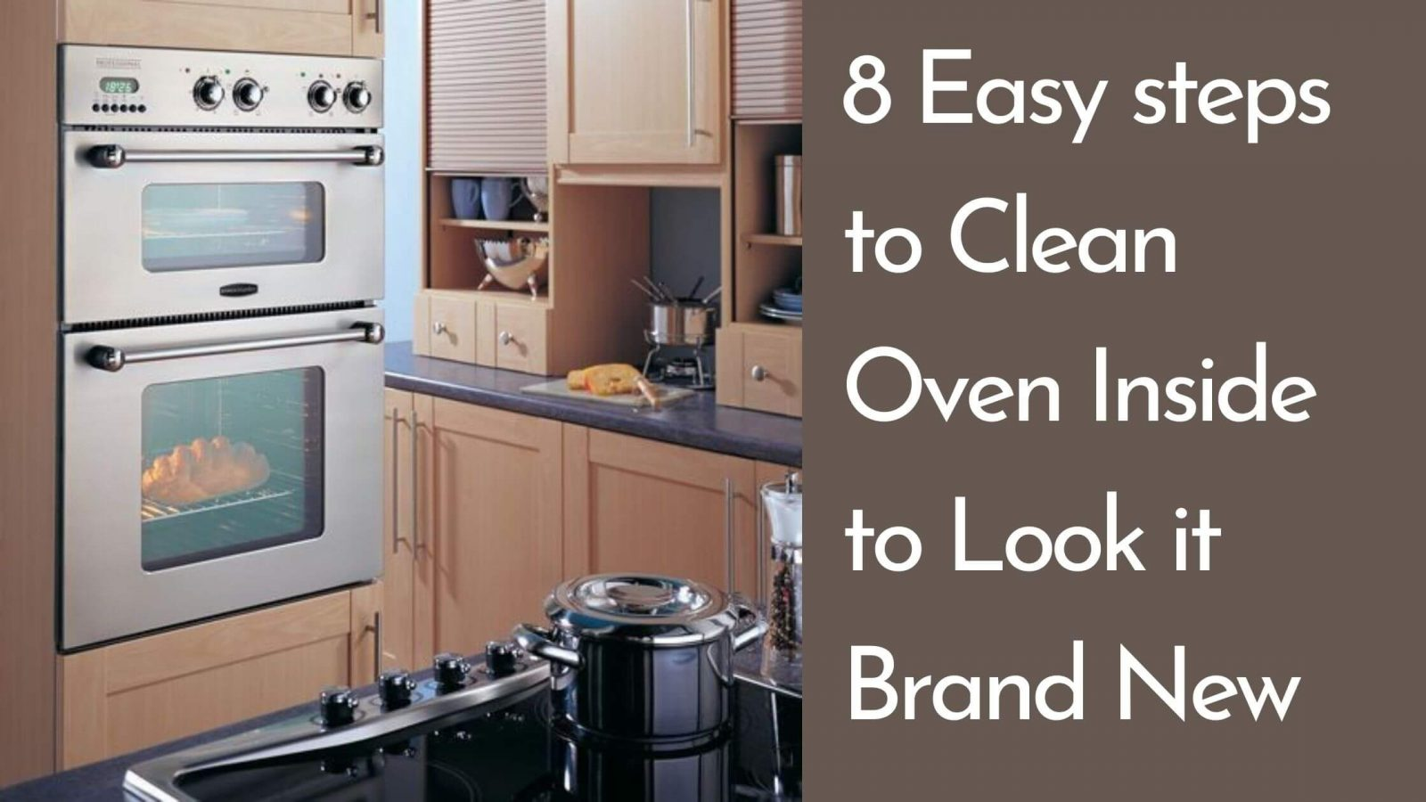 how to clean oven inside